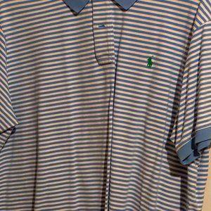 Light Blue and White (Green Polo) Ralph Lauren